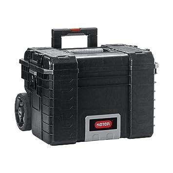 Keter 22 Gear Rigid Trolley Werkzeugkoffer Leer Werkzeugkasten