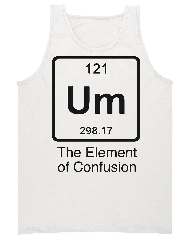 """Um"" The Element Of Confusion Men's Tank Top Shirt Medium"