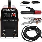 Hehilark Soldadora Portátil IGBT de la CC del Inversor ZX7-200 220A 50V Toda la Máquina de Soldadura Eléctrica Miniatura del…