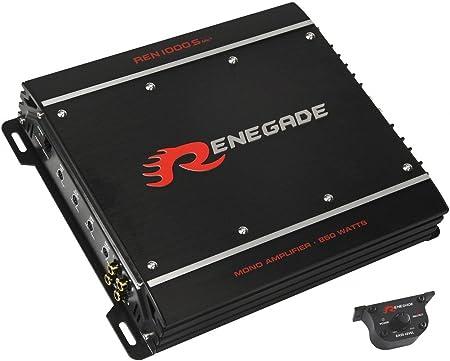 Renegade Ren1000s Monoblock Endstufe Mk3 Navigation