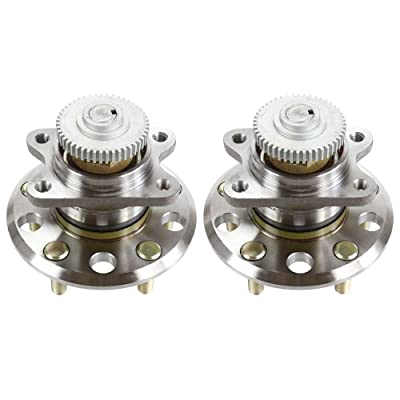 Auto Shack HB612267PR Rear Pair 2 Wheel Hub Bearing Assemblies 5 Stud: Automotive