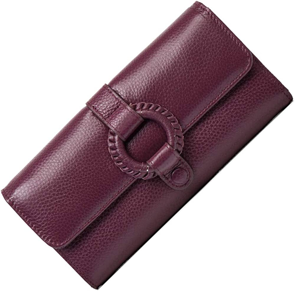 KIMINII Genuine Leather Clutch Wallets Max 55% OFF Challenge the lowest price of Japan ☆ Dec Women For with Circle