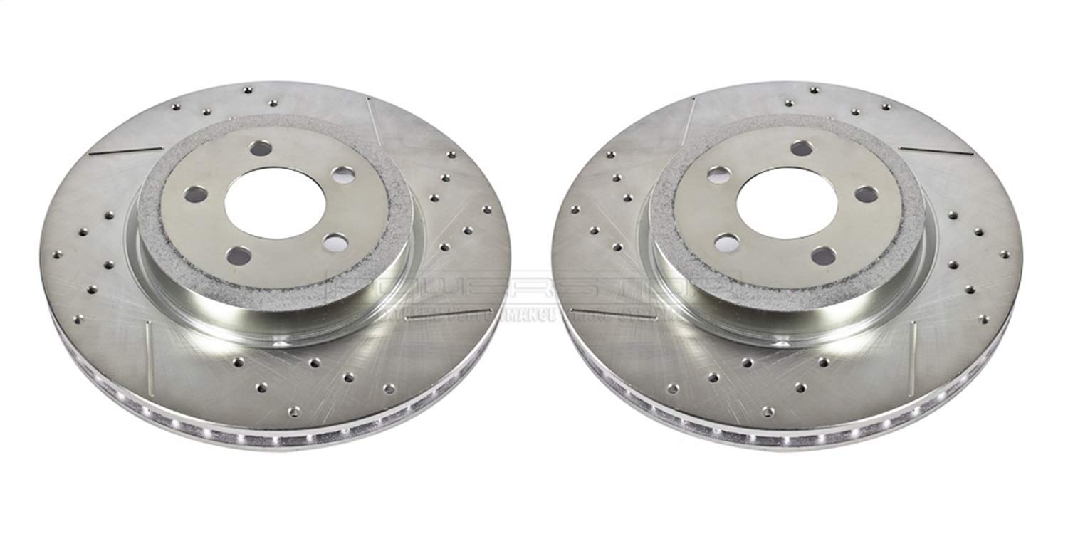 Power Stop (AR8359XPR) Drilled and Slotted Rotor