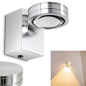 Led Wandlampe Florenz Wandstrahler Ip44 Fur Badezimmer Wohnzimmer