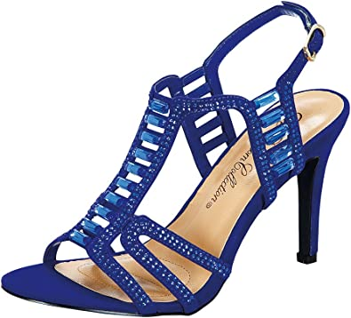 Chic Sparkle Rhinestone Ankle Strap