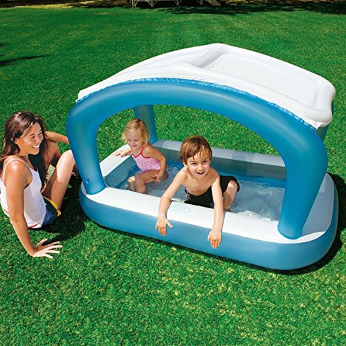 Intex Sunshade Rectangular Baby Pool