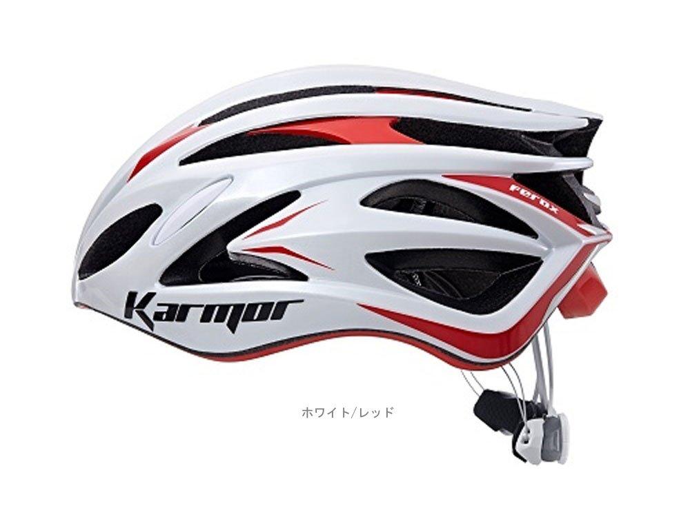 KARMOR(カーマー) FEROX2(フェロックス2)<ホワイト/レッド S/M> ヘルメット Boa搭載 R2KA151178X   B074PNPHKM