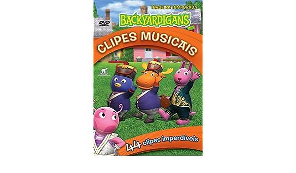 3ª Temporada - Backyardigans Em Clipes Musicais - DVD ...