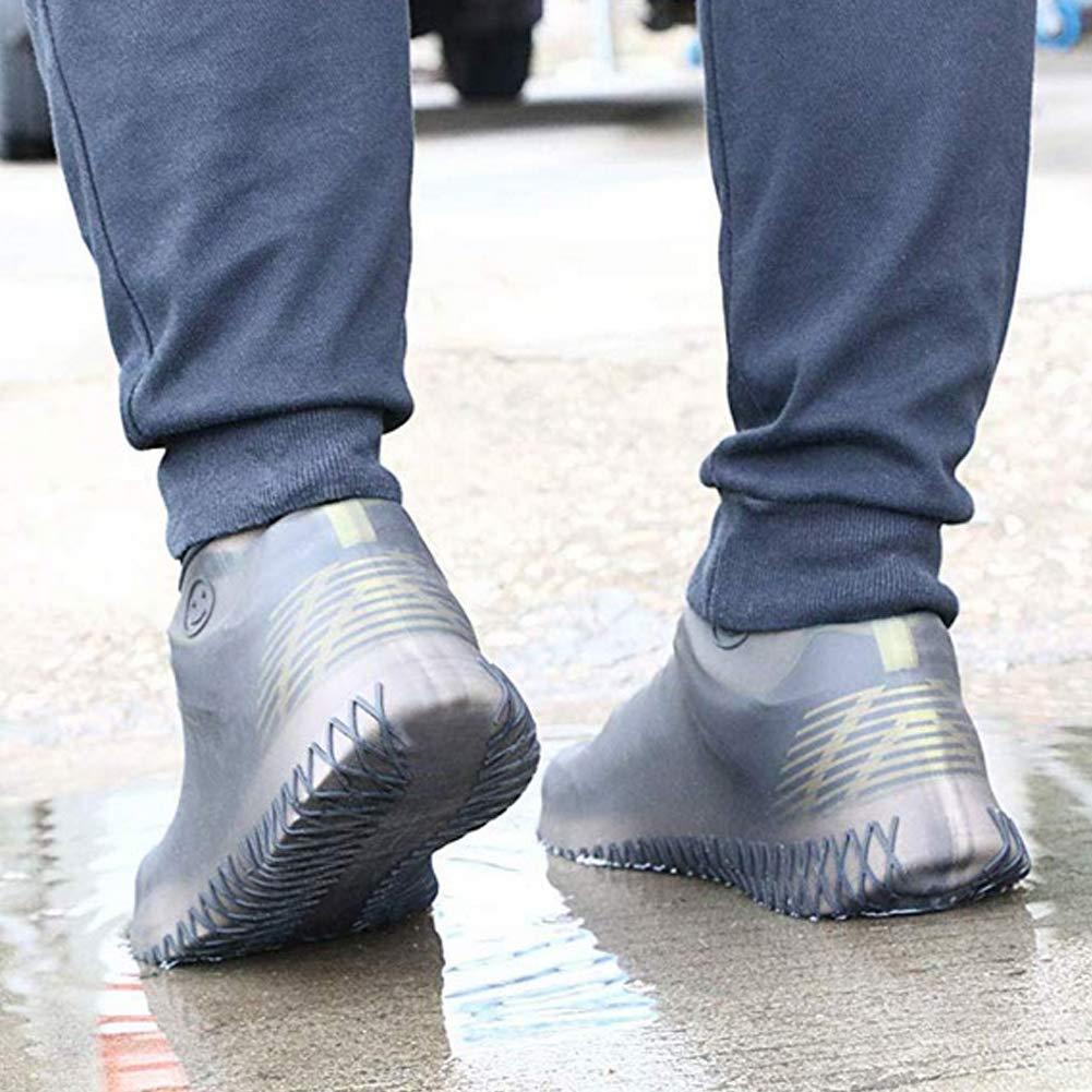 Copriscarpe riutilizzabile in silicone per bambini impermeabile protezione per scarpe da giorno di pioggia ChanYW antiscivolo