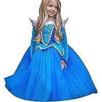 Vestito Abito per bambino ragazza bambina Principessa Natale Partito Compleanno bambini vestito carnevale bambina abiti Principessa Fantasia Vestite Halloween Costume