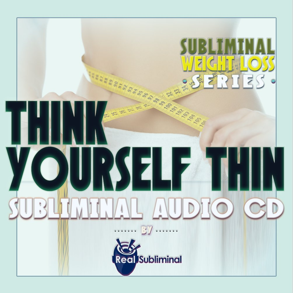 Amazon.com: Subliminal Weight Loss Series: Think Yourself Thin - subliminal  audio CD: Health & Personal Care