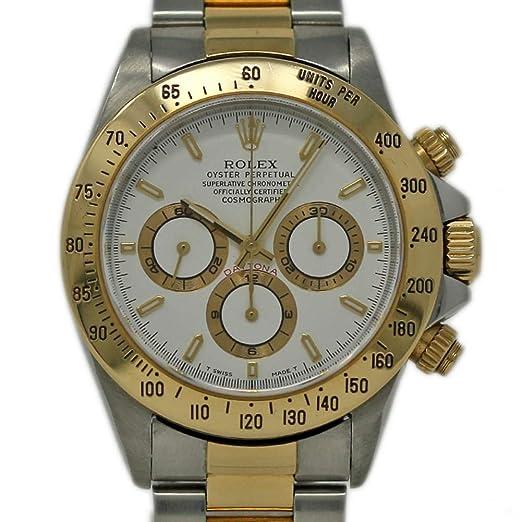 Rolex Daytona 16523 - Reloj automático para Hombre (Certificado de autenticidad)