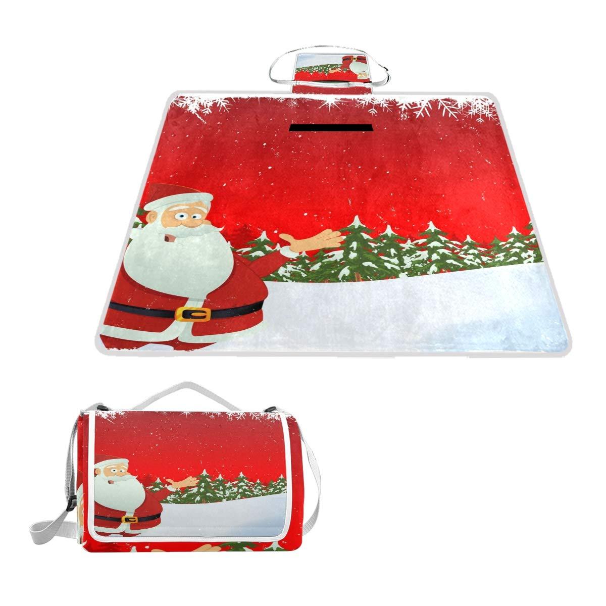 c74fe1fff57b Amazon.com : imobaby Christmas Santa Claus Winter Snow Picnic ...