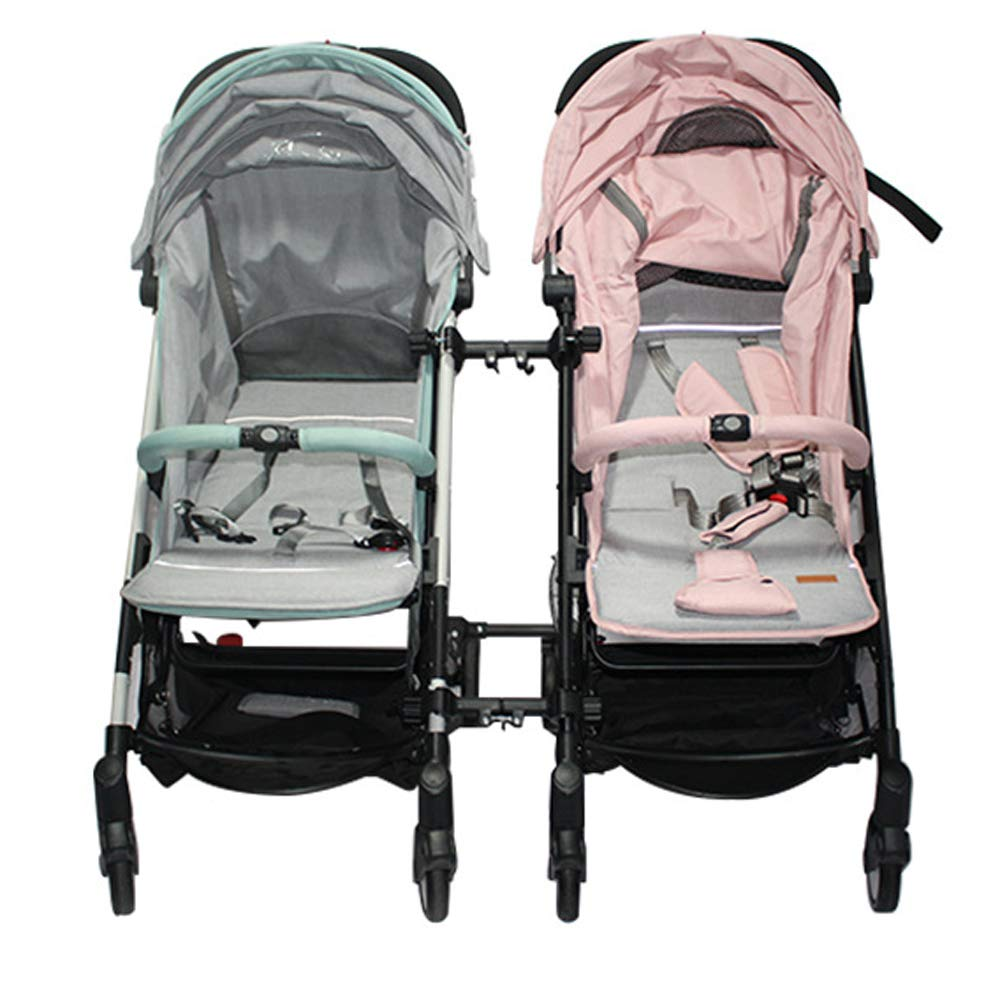 Stroller Connectors, Turn 2 Strollers into an Instant Tandem Stroller, Fits Most Strollers by ROMIRUS (Image #7)