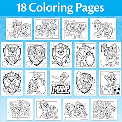 - Amazon.com: Crayola Paw Patrol Color Wonder, Mess Free Coloring Pages &  Markers, Toddler Stocking Stuffers: Toys & Games