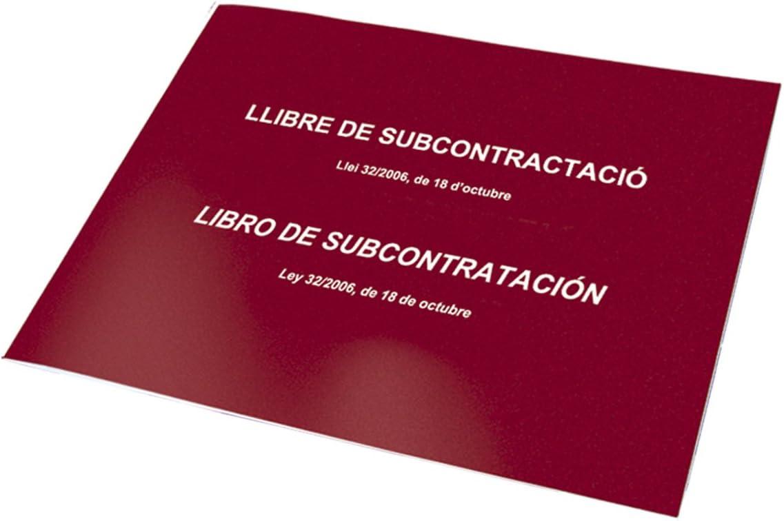 Dohe 9990 - Libro de subcontratación, catalán y Castellano: Amazon ...