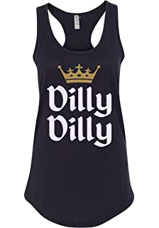 7170842d6e90a Mixtbrand Women s Dilly Dilly St. Patrick s Day   Gold Crown Racerback Tank  Top