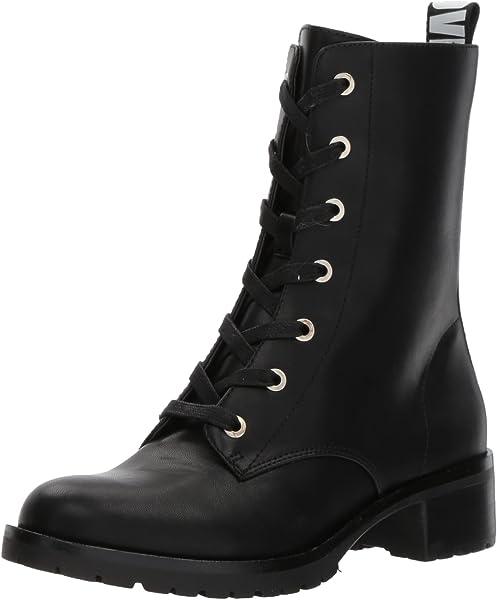 73fed6beb6 Amazon.com: ALDO Women's TRULLE Combat Boot, Black Synthetic, 10 B ...