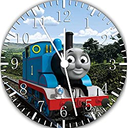 Borderless Thomas Train Frameless Wall Clock E140 Nice for Decor Or Gifts
