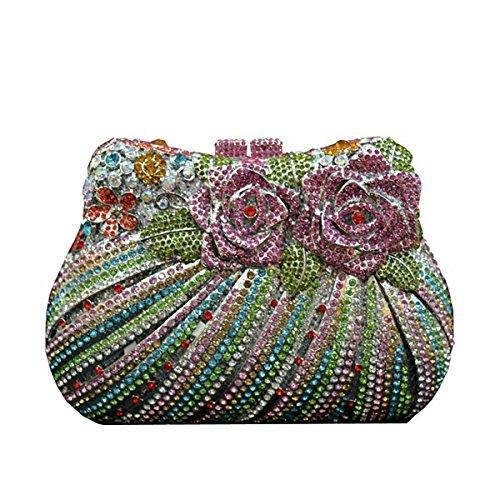 Soirée Des Mode Main Luxe De Colordiamond Femmes À Sac Diamant FHFgO