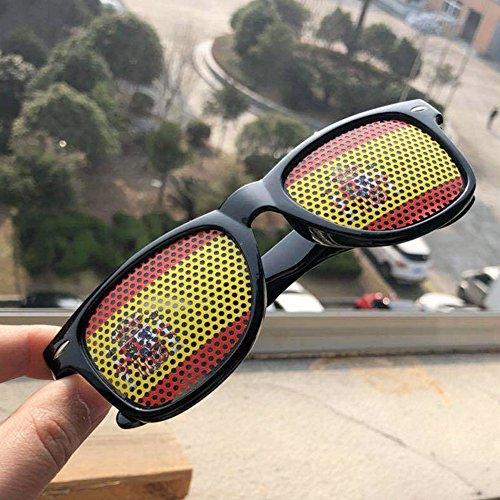de Gafas Estilo los de Gafas Sol de Bandera de diseño Banderas para Adultos para clásico de Sol Francia Nacionales Eyewear patriótico Fans de IxwvvY0qnU