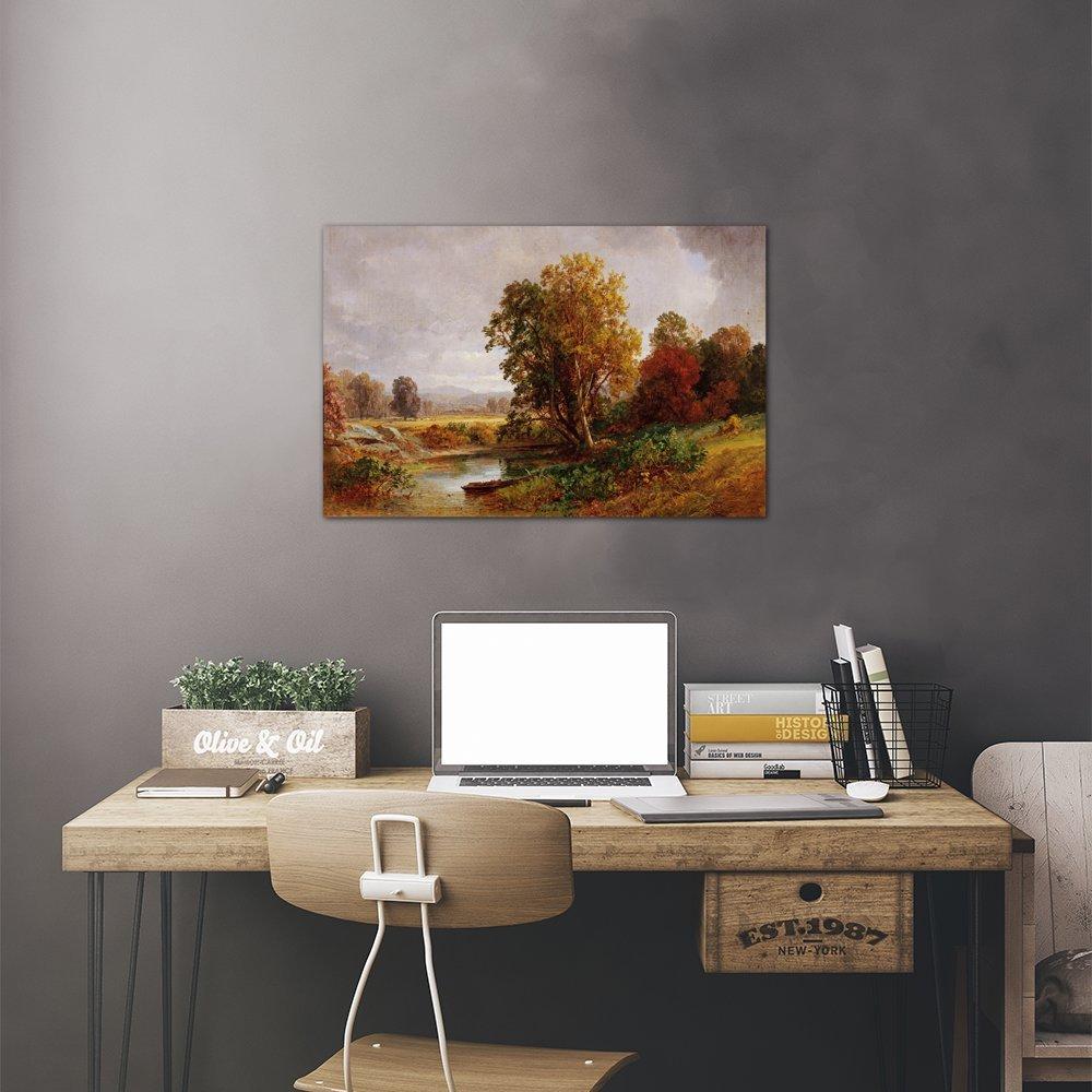 iCanvasART Autumn Landscape 1882 Print 26 x 18