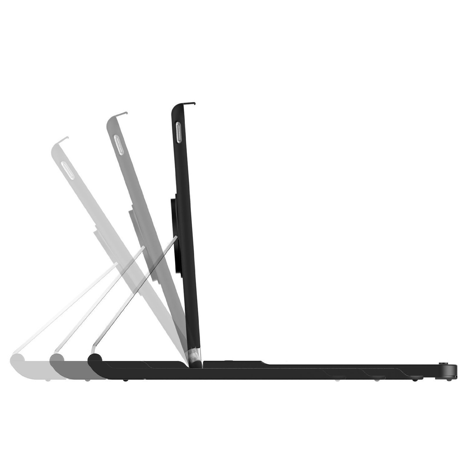 JETech Bluetooth Keyboard Case for Apple iPad Air 2, 360 Degree Rotation, Multi-Angel Stand by JETech (Image #7)