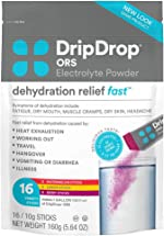 DripDrop ORS - Electrolyte Powder For Dehydration Relief Fast - For