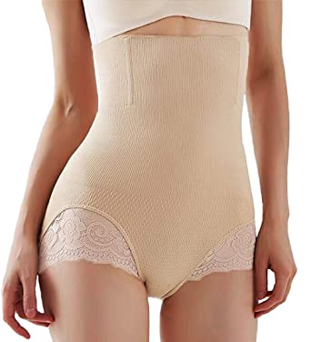 6963f03e550 Womens Butt Lifter Shapewear Tummy Control Hi-Waist Seamless Panties Lace  Hip Shaper Hourglass Figure