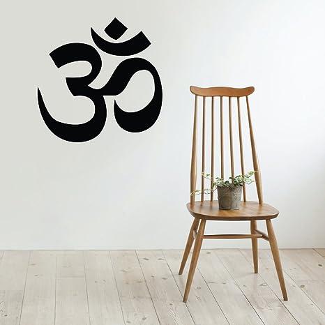 Amazon.com: OM Símbolo calcomanía decorativo para pared ...