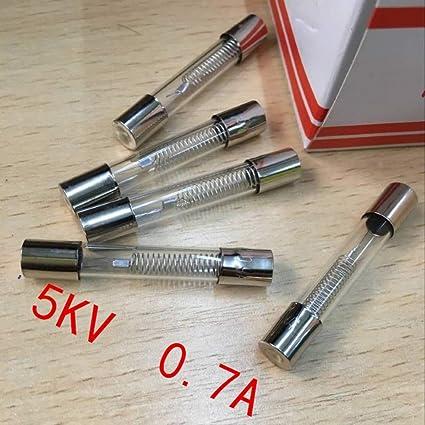 10 fusibles de microondas 5 kv 0,7 a 5000 V 700 ma: Amazon.es ...