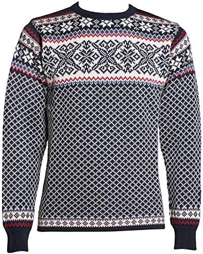 Norlender 100% Norwegian Wool Osteroy Sweater w/Free 100% Wool Ski Cap