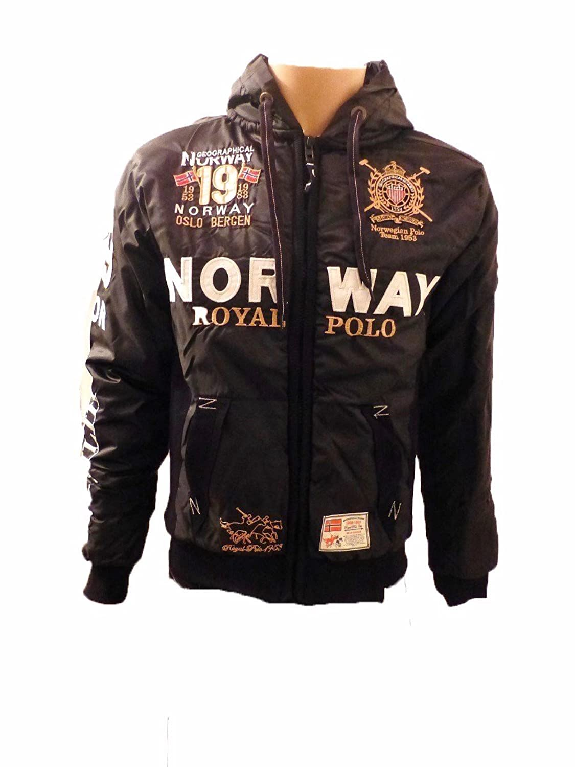 GEOGRAPHICAL NORWAY ROYAL POLO SPORT COLLECTION HERREN WINTER JACKE XL