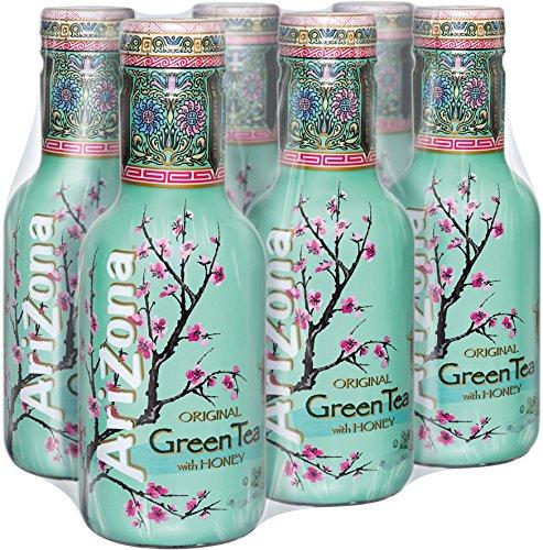 Arizona Green Tea, 6er Pack (6 x 500 ml)