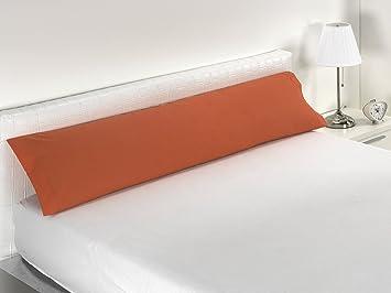 Sabanalia - Funda de almohada Combina (Disponible en varios colores/tamaños), Cama 90, Naranja: Amazon.es: Hogar