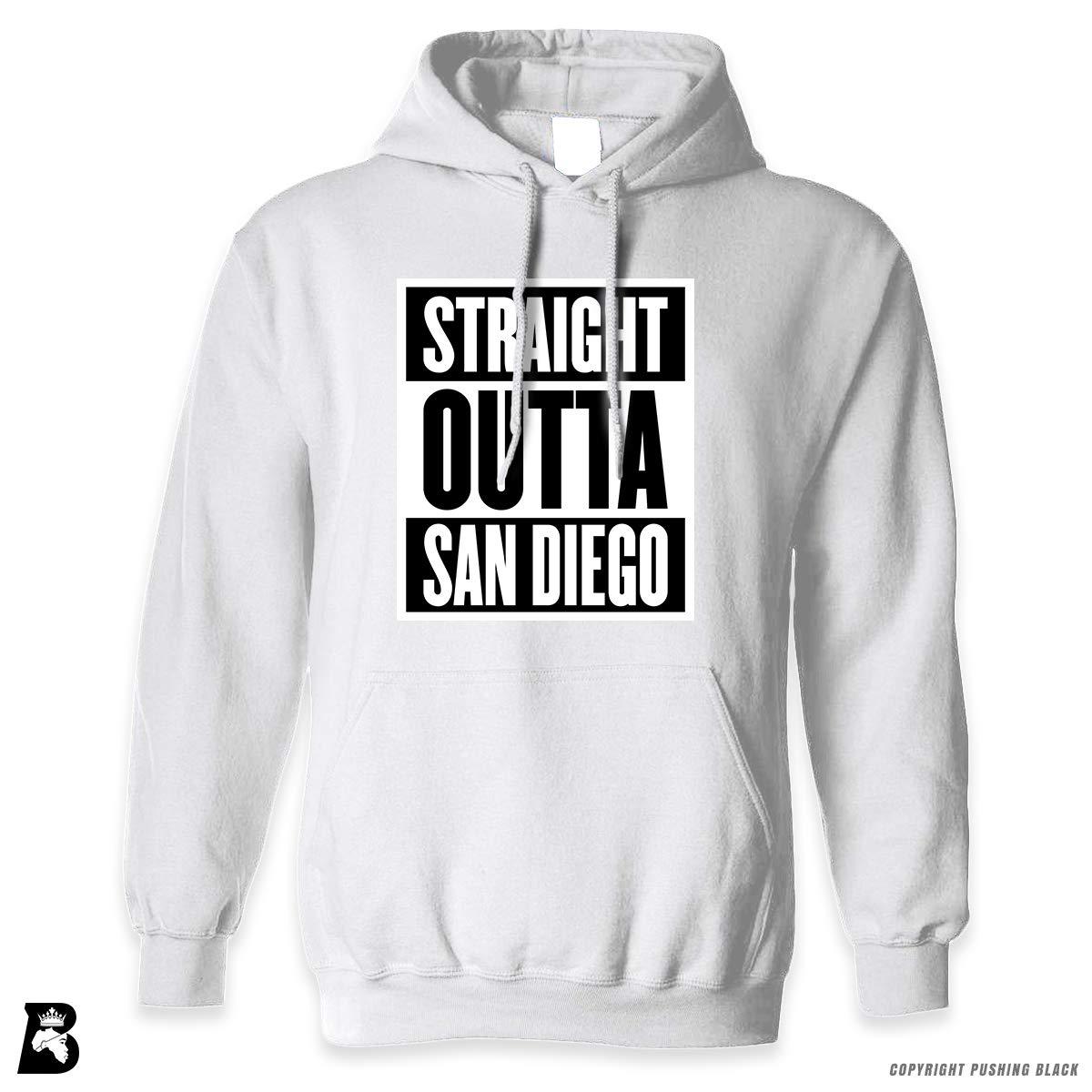Straight Outta San Diego Premium Unisex Hoodie with Pocket