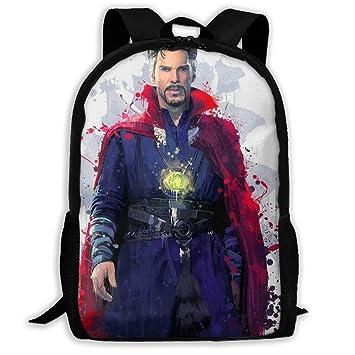 135dd0e97e3b Amazon.com | Avengers Doctor Strange-1 School Backpack Lunch Bag Set ...