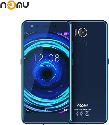 Moviles Resistentes, IP68 Impermeable Smartphone Libres Nomu M8 IP68/IP 69K, Telefono Movil Antigolpes Libres 4GB RAM + 64GB ROM, 21.0MP+21.0MP+Dual Color Flash (Azul ...