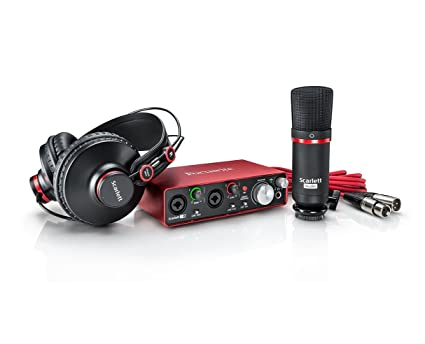Amazon.com: Focusrite Scarlett 2I2 Studio (2nd Gen): Musical ...