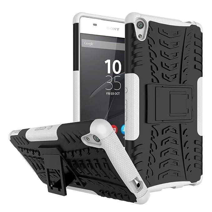 """2 opinioni per SMTR Sony Xperia XA Ultra (6"""") Case Dual Layer Custodia ibrida Rigida Morbido"""