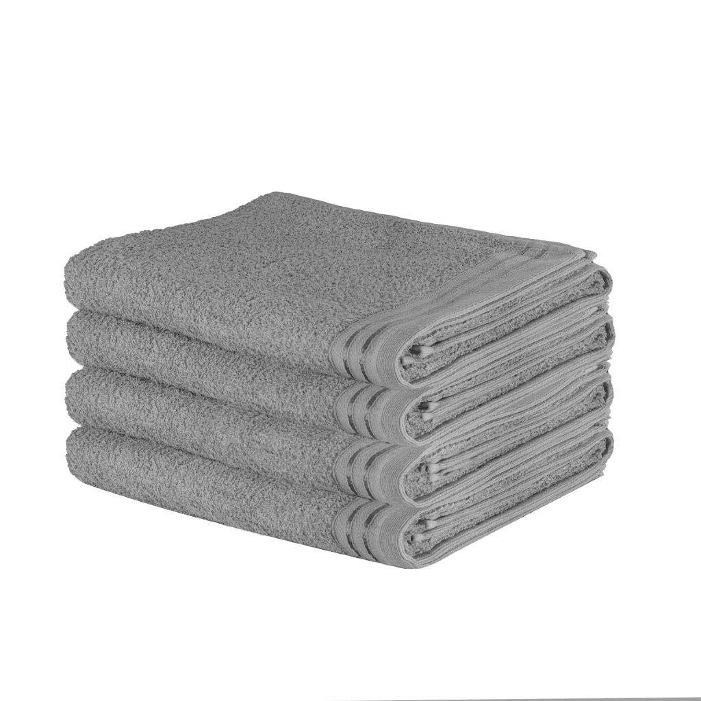 Artistic Fashionista Luxury 100/% Cotton 4PC WILSFORD BATH SHEET TOWEL SET Ultra Soft and Highly Absorbent Black