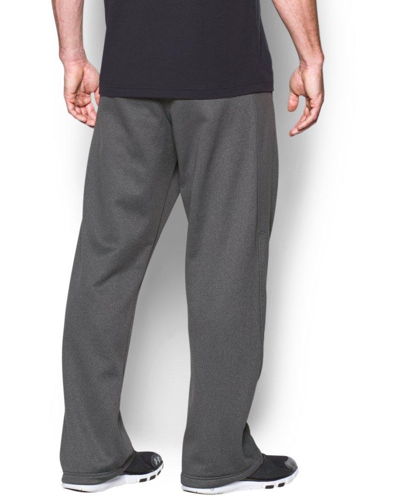 Under Armour Men's Storm Armour Fleece Pants, Carbon Heather/Carbon Heather, Small by Under Armour (Image #2)