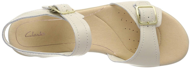18f33a94de426 Clarks Women's Bay Primrose Ankle Strap Sandals: Amazon.co.uk: Shoes & Bags