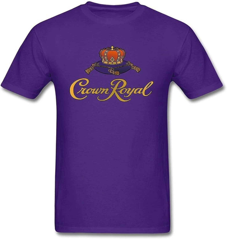 Hq Men's Crown Royal T Shirts Purple