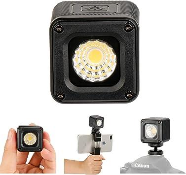 ULANZI L1 Versátil Mini LED Luz Profesional Aventura a Prueba de ...