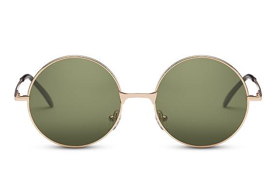 5447da392f Cheapass Sunglasses Lunettes Rondes John Lennon Rétro Classique ...