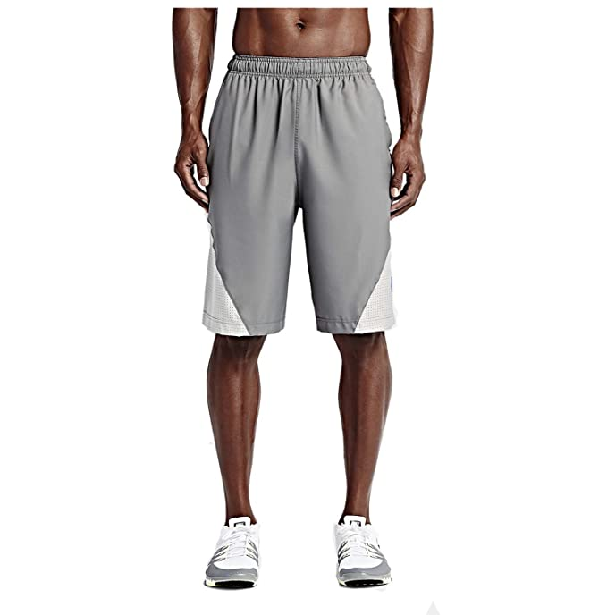 c70dc9994854c Nike Men's Dri-Fit Fly 4.0 Football Training Shorts-Tumbled Grey-Small