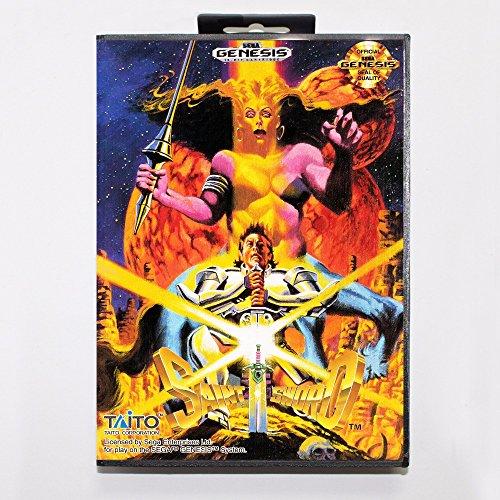 Saint Sword Game Cartridge 16 Bit Md Game Card With Retail Box For Sega Mega Drive For - Saint Sword
