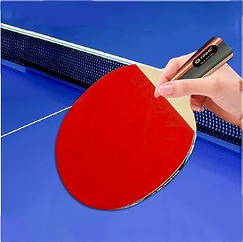 X&M Ping Pong Juego de Padel - 1 Raquetas 10 Bolas Profesionales Paquete de Tenis de