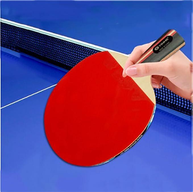 X&M Ping Pong Juego de Padel - 1 Raquetas 10 Bolas Profesionales Paquete de Tenis de Mesa recreativo | Hoja 5 Capa Durable,Caucho del Rendimiento para el ...